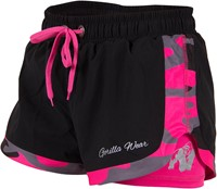 Gorilla Wear Denver Shorts Black/Pink-1