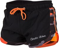 Gorilla Wear Denver Shorts Black/Neon Orange-1