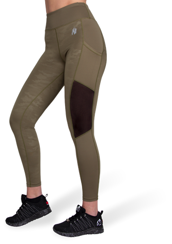 Gorilla Wear Savannah Mesh Legging - Legergroen Camo