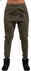 Gorilla Wear Celina Drop Crotch Joggers - Army Green