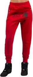Gorilla Wear Celina Drop Crotch Joggers - Red