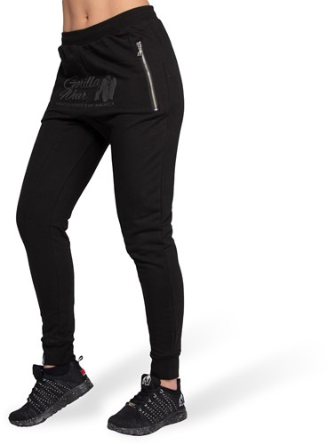 Gorilla Wear Celina Drop Crotch Joggingbroek - Zwart
