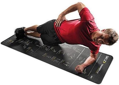 SKLZ Trainermat Sport Performance - Zelf begeleidende oefenmat met 24 oefeningen-2