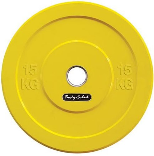 Body-Solid Olympic Bumper Plate - 15 kg