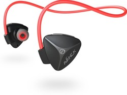 Avanca D1 Bluetooth Headset - Black/Red
