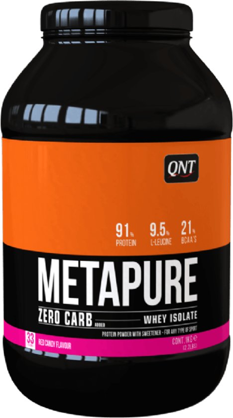 QNT Zero Carb Metapure Red Fruits 1000 gr