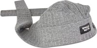 Gorilla Wear Seersucker Work out cap - Grey-1