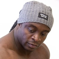 Gorilla Wear Seersucker Work out cap - Grey-2