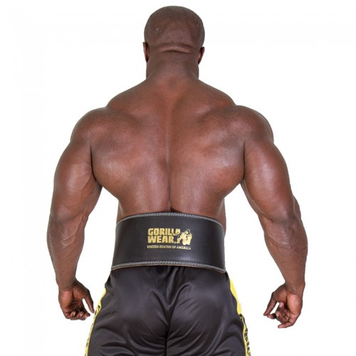Gorilla Wear Full Leather padded belt-2