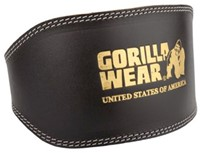 Gorilla Wear Full Leather padded belt-1