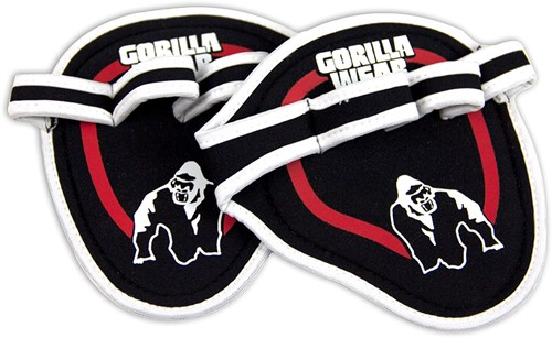 Gorilla Wear Palm Grip Red-2