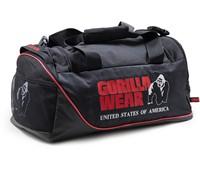Gorilla Wear Jerome Gym Bag -  Black/Red-2