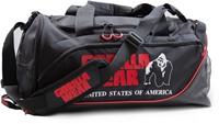 Gorilla Wear Jerome Gym Bag -  Black/Red-3