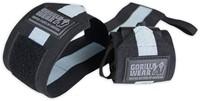 Gorilla Wear Wrist Wraps Ultra Black/Grey-1