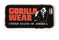 Gorilla Wear iPhone 6 Case - Black/Red-1
