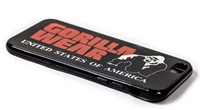Gorilla Wear iPhone 6 Case - Black/Red-2