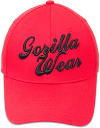 Gorilla Wear Laredo Flex Cap - Red