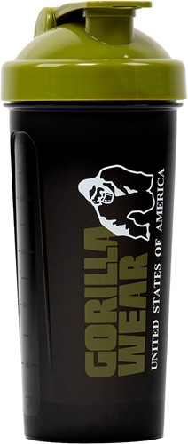 Gorilla Wear Shaker XXL - Zwart/Legergroen
