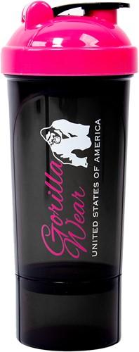 Gorilla Wear Compacte Shaker - Zwart/Roze