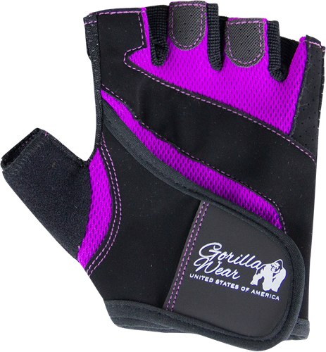 Gorilla Wear Womens Fitness Gloves Zwart/Paars
