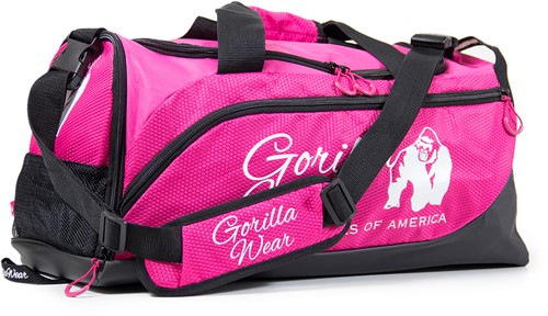 Gorilla Wear Santa Rosa Gym Bag - Pink/Black