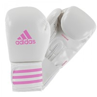 Adidas Female Power 200 (Kick)Bokshandschoenen Wit - Roze-1