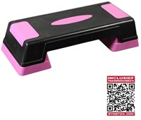 Stepper Fitness Gymstick aerobic stepper met trainingsvideo-1
