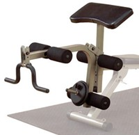 Body-Solid (Best Fitness) Leg Developer & Preacher Curl Attachment-1