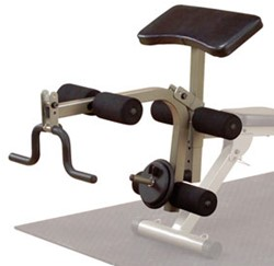 Body-Solid (Best Fitness) Leg Developer & Preacher Curl Attachment