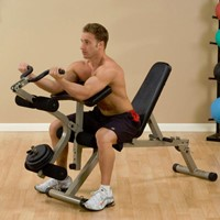 Body-Solid (Best Fitness) Leg Developer & Preacher Curl Attachment-3