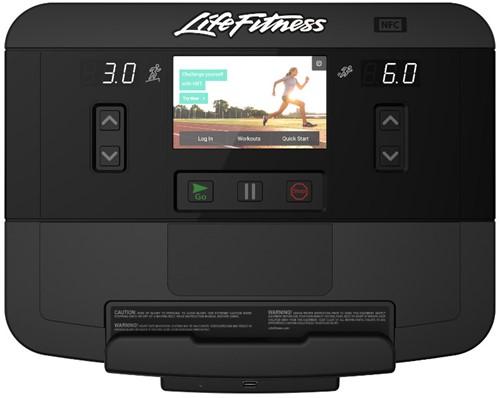 treadmill console display life fitness