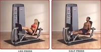 Body-Solid Dual Line Pro Dual Leg & Calf Press Machine-2