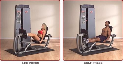 Body-Solid Dual Line Pro Dual Leg & Calf Press Machine-2