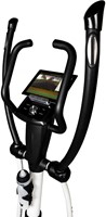 Flow Fitness DCT250i UP computer detail 1 with tablet