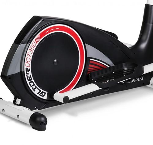 Flow Fitness DCT350 crosstrainer detail 3