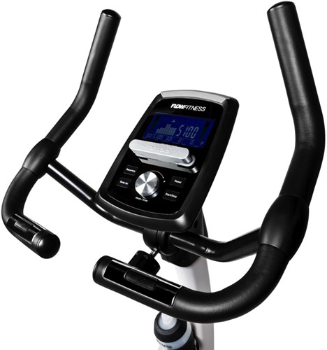 Flow Fitness DHT250i UP hometrainer display