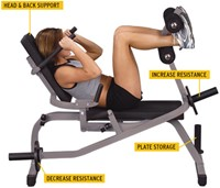Body-Solid Counterbalance Ab Crunch-2