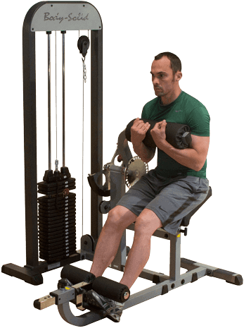 Body-Solid Ab & Back Machine