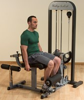 Body-Solid Leg Extension & Leg Curl Machine