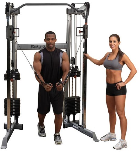 Body-Solid Functional Training Center - Cable Crossover-2