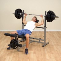 Body-Solid PowerCenter Combo Bench-2