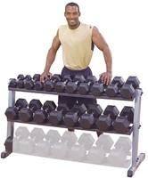 Body-Solid Pro Dumbbell Rack-2