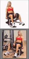 Body-Solid Inner/Outer Thigh Uitbreiding voor G3S,G6B en G9S-2
