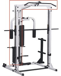 Body-Solid Grey Linear Bearing Smith Machine - Lat Attachment