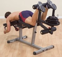 Body-Solid Seated Leg Extension & Supine Curl-2