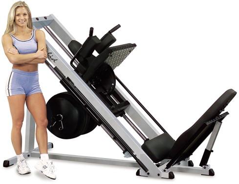 Body-Solid Pro Club Line Professionele Leg Press 45°-2