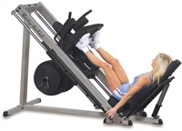 Body-Solid Pro Club Line Professionele Leg Press 45°-1