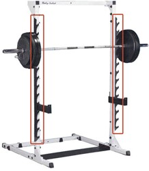 BS Grey Linear Bearing Smith Machine - Gun Rack
