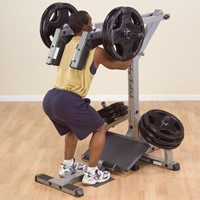 Body-Solid GSCL360 Leverage Squat Calf Machine-2