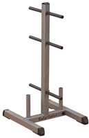 Body-Solid Standard Plate Tree & Bar Holder-1